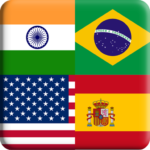 Flags Quiz Gallery Quiz flags name and color Flag 1.0.176 MOD Unlimited Money