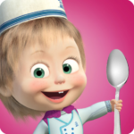 Masha and Bear Cooking Dash 1.3.6 MOD Unlimited Money