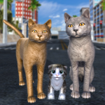 Cat Family Simulator Stray Cute Kitty Game 10.1 MOD Unlimited Money