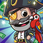 Idle Pirate Tycoon 1.0.2 MOD Unlimited Money
