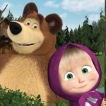 Masha and the Bear. Educational Games 5.5 MOD Unlimited Money