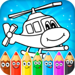 Coloring pages for children transport 1.0.14 MOD Unlimited Money
