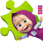 Masha and The Bear Puzzle Game 2.7 MOD Unlimited Money