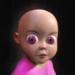 Baby in Pink Horror Game Scary Babysitting games MOD Unlimited Money